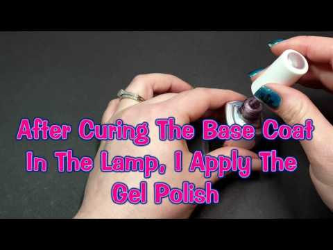 "How To Complete A ""No Chip"" Gel Polish Mani At Home"