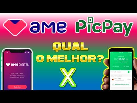 Aplicativo AME digital x PicPay   Qual melhor para economizar e ganhar cashback?