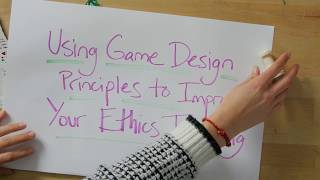 Teaching Ethics with Games - Introduction