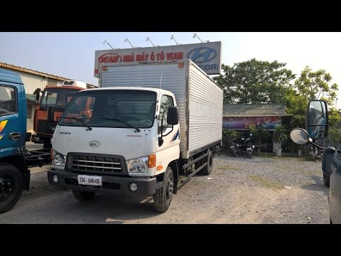 Xe tải Hyundai HD800 - Hyundai Veam 8 tấn nâng tải lớn nhất từ HD72