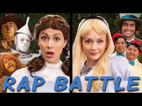 DOROTHY vs ALICE: Princess Rap Battle (Emily Kinney, Ryan McCartan, Whitney Avalon) *explicit*