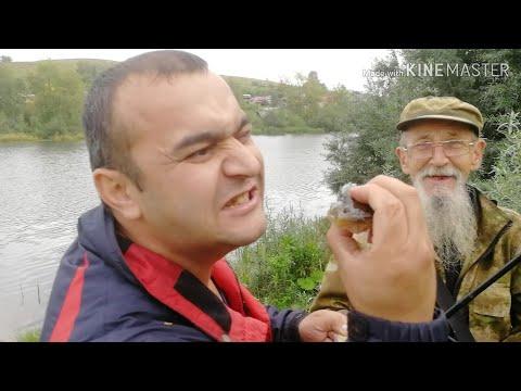 Дедушка в Сургуте 👴 поймал рыбу 🐡ратана