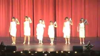 """""""Fountains"""" skit at talent show"""