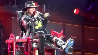 Got Some Rock & Roll Thunder - AC/DC & Axl Rose, Lisbon, Portugal 7/5/16