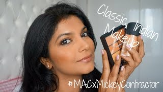 Indian Beauty Essentials Mickey Contractor Makeup Tutorial with MAC Cosmetics - Download this Video in MP3, M4A, WEBM, MP4, 3GP