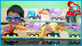 น้องบีม | รีวิวของเล่น EP114 | รถบรรทุกไดโนป่วนก๊วนหรรษา Toys