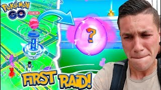 Download Youtube: MY FIRST GYM RAID EVER IN POKEMON GO! WHAT IS GYM RAIDING LIKE?