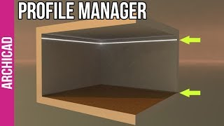 How to create anything in ArchiCAD - Part 2: Profile Manager