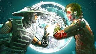 Injustice 2 - Raiden Vs Joker All Intro Dialogue/All Clash Quotes, Super Moves