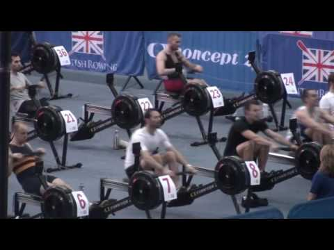 British Rowing Indoor Championships Dec 2016