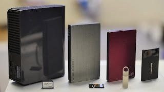 SSD vs HDD vs T1 - Fastest and most stable mobile storage test