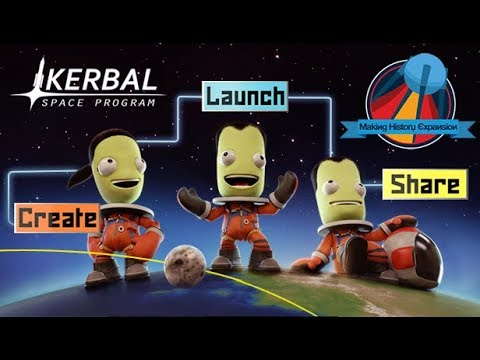 Kerbal Space Program: Making History Expansion