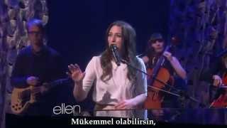 Sara Bareilles - Brave [Türkçe Altyazılı] [Ellen - Canlı]