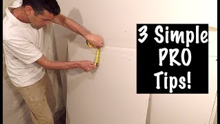 How to Cut Drywall EFFICIENTLY!