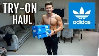 HUGE ADIDAS TRY ON HAUL Clothes & Trainers | Mens Fashion