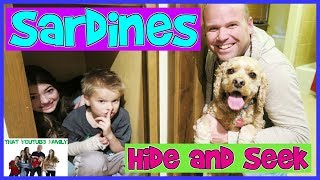SARDiNES Hide And Seek WITH OUR GRANDPARENTS (Do They Win?) / That YouTub3 Family Family Channel