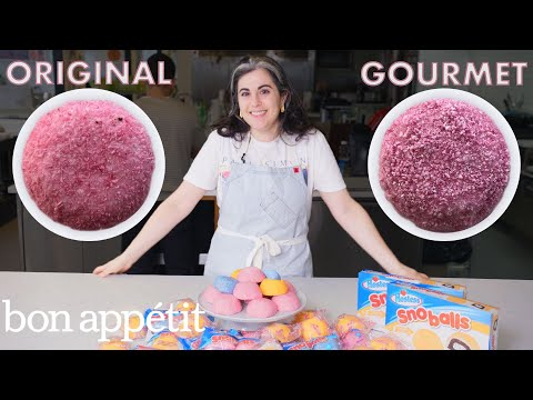 Claire Attempts to Make Gourmet Sno Balls | Gourmet Makes | Bon Appétit [17:47]