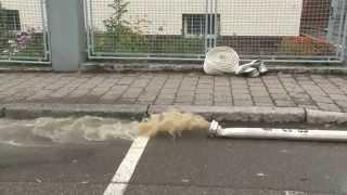 preview picture of video 'Unwetter Uhingen Landkreis Göppingen'