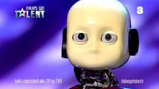"Il Robot Di ""Italia's Got Talent"". TvZoom.it"