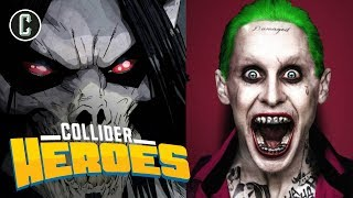 Jared Leto Better For Joker or Morbius? - Heroes LIVE At Amazing Las Vegas Comic Con