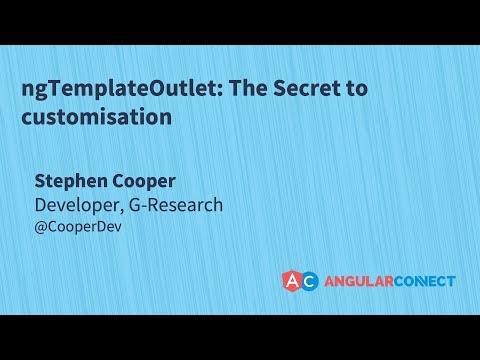 ngTemplateOutlets: The secret to customisation