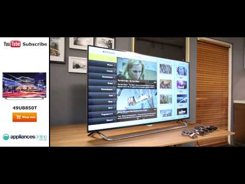 """LG 49UB850T 49"""" 4K Ultra HD Smart 3D LED LCD TV Reviewed by product expert - Appliances Online"""