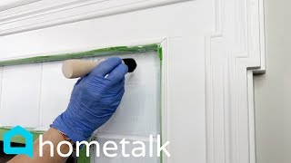 Fireplace Makeover - Transform Your Outdated Fireplace With This Painting Technique! | Hometalk