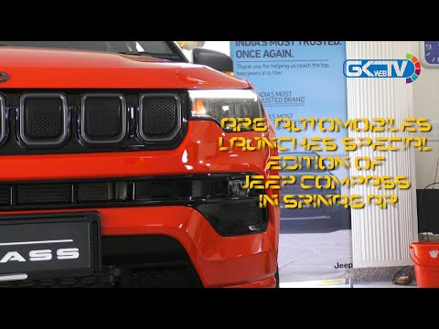 ARG Automobiles launches Special Edition of Jeep Compass in Srinagar