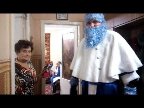 К нам пришёл Дед Мороз!!!))
