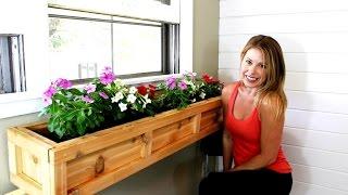 DIY of the Week: Window Planter Box