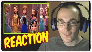 Ralph Breaks the Internet: Wreck-It Ralph 2 Official Trailer Reaction - 1080p