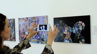 Augmented Reality, Artivive  & Bella Volen's art