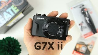 Canon G7X Mark ii Video Creator Kit Unboxing and First Impressions