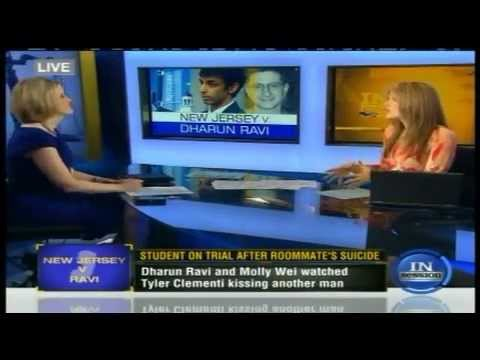 Meg Strickler on In Session discussing #DharunRavi case on March 12, 2012
