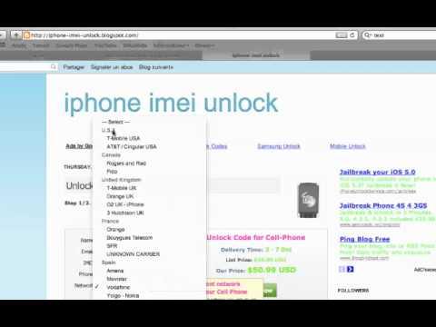 Comment Debloquer Un Iphone 4s Gratuitement