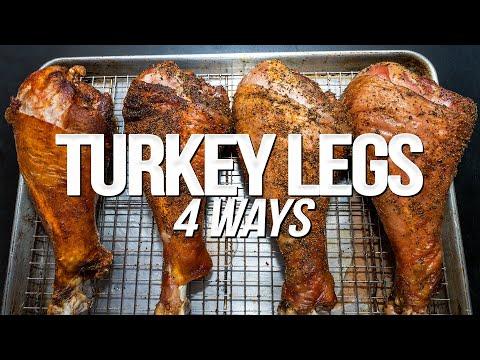 GIANT FAIR-STYLE TURKEY LEGS (4 EASY WAYS!)