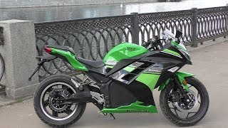 Электромотоцикл ElectroStreet Moto: ТЕСТ ДРАЙВ