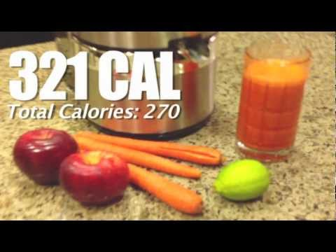 Video High Energy Juice Recipe Easy & Healthy Juicer