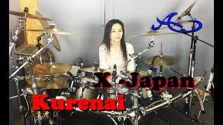 X - JAPAN - Kurenai(紅) drum cover by Ami Kim (29th)