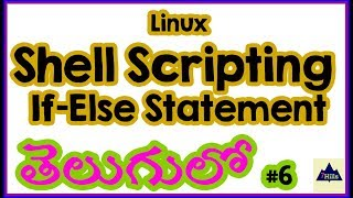 If else statement | Shell Scripting Tutorials for Beginners in Telugu