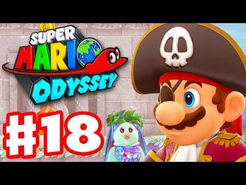 Super Mario Odyssey - Gameplay Walkthrough Part 18 - Pirate Mario of
