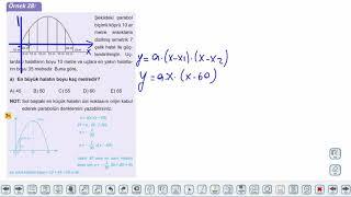 Eğitim Vadisi 11.Sınıf Matematik 9.Föy İkinci Dereceden Fonksiyonlar ve Grafikleri  4 Konu Anlatım Videoları