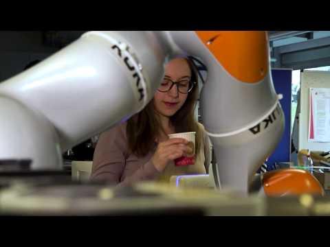 Der CoffeeBot auf dem Campustag