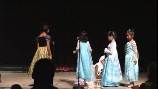 Dhiya and friends Cactus Ranch Elementary talent show