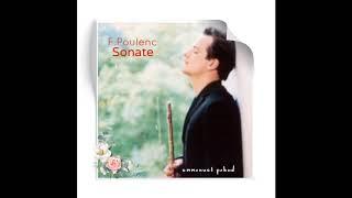 F. Poulenc SONATE /flute Emmanuel Pahud