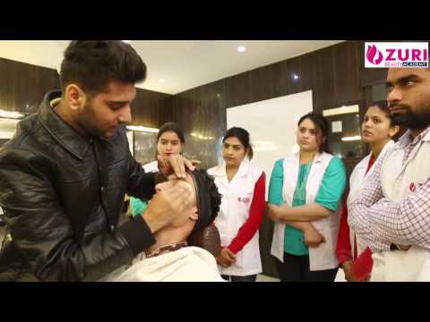 GRooM Make - up demo for make -Up.ZURI International beauty Academy 34 A Chandigarh.