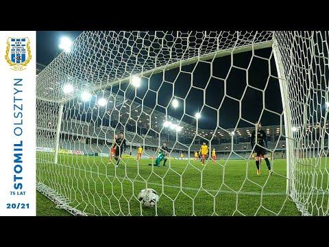 Skrót meczu Korona Kielce - Stomil Olsztyn 1:3