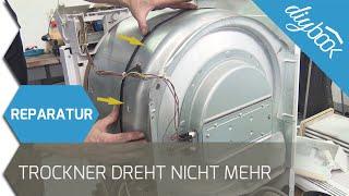 Trockner dreht sich nicht mehr - Keilriemen wechseln (Bauknecht/Whirlpool)