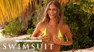 Julie Henderson Tries To 'Keep It PG' Behind The Scenes | Outtakes | Sports Illustrated Swimsuit