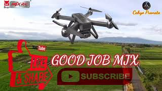 Test Terbang DRONE 4K-Video || MJX Bugs 20 EIS || Test-4 Orbit Mode dan Jarak 500 M.